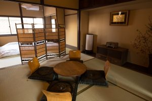 Japanese room with Futon