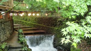 Kawadoko- riverside dining